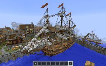 medieval trading ship Minecraft Blog