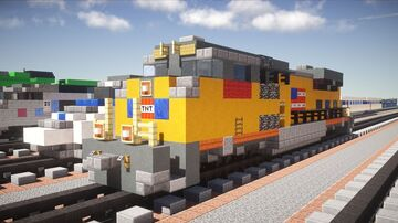 "Building Trains Is In My opinion ""A Good Therapy"" and Something That Is Fun To Do. Minecraft Blog"