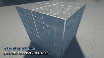 Minecraft - G3N3ZIS HD texture pack. The stone block. 1024x1024 - SEUS PTGI 11 Minecraft Blog