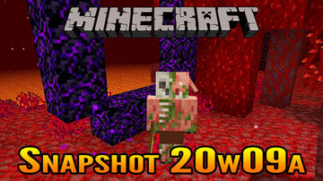 Minecraft Snapshot 20w09a   Crying Obsidian and Zombified Piglins Minecraft Blog