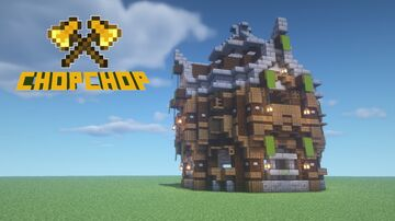 Medieval Circle House / Outpost Minecraft Blog