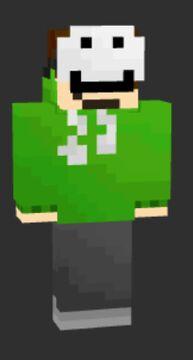 I made a skin for minecraft youtuber Dream Minecraft Blog