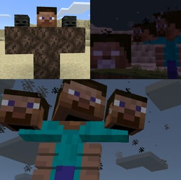 Cursed Steve Minecraft Blog