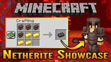 Minecraft 1.16 Netherite Showcase Minecraft Blog