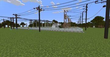 Small 69kv/25kv Substation Minecraft Blog