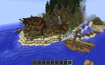 Beautiful Medieval fishing village Minecraft Blog