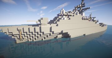 Offshore Patrol Vessel Manila Class (Fictional) | Multi-Role Combat Ship Minecraft Blog