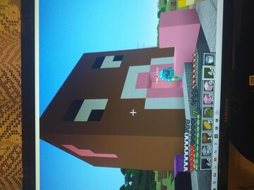 My First building in survival Mode- Leather Shop Minecraft Blog