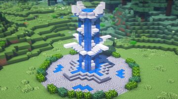 How to Build a Fountain Minecraft Blog