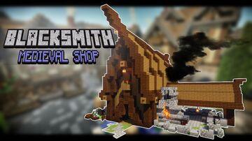 Simple Minecraftl: MEDIEVAL BLACKSMITH SHOP (Minecraft Building Tutorial) Minecraft Blog