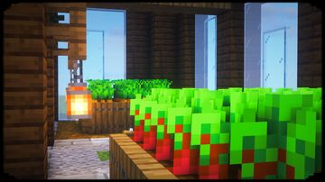 How to Make a Greenhouse Minecraft Blog