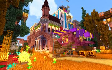 The GolliCRAFT citizens are all decked out for halloween this year! Join today - UqwrZWmhQZ4 Minecraft Blog