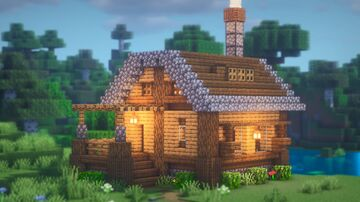 How to Build STARTER House Minecraft Blog