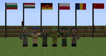 I have finally created custom uniforms for the whole Warsaw Pact! Minecraft Blog