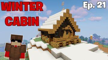 Winter Cabin Build (Logcraft Season 3) Minecraft Blog