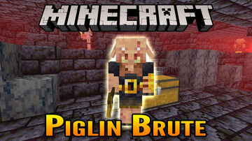 Minecraft 1.16 Nether Update Bastion Remnant Piglin Brute Showcase Minecraft Blog