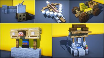 15 Medieval Town Decorations Minecraft Blog