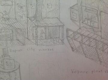 my art i made Minecraft Blog