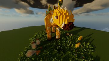 Big Moobloom! #MobVoteBuildingContest Minecraft Blog