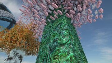 Minecraft texture pack G3N3ZIS HD. The first alien trees 1024x1024 - SEUS PTGI 12 Minecraft Blog
