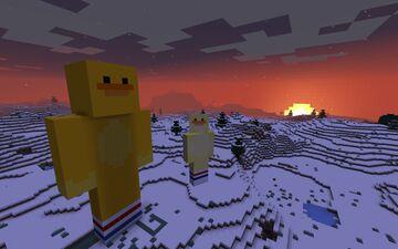 Duck statue Minecraft Blog