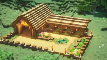 How to build BARN in Minecraft Minecraft Blog