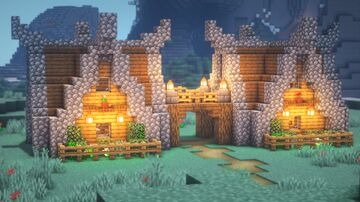 How to Build SMALL NORDIC Base Minecraft Blog