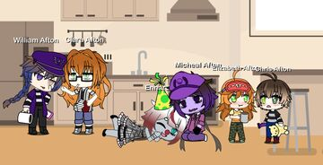 made my version of the afton family in gatcha life 2! please tell me what you think!! >wo Minecraft Blog