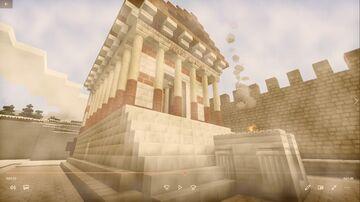 AB VRBE CONDITA - Templo de «Júpiter Stator». Visita virtual guiada. Minecraft Blog