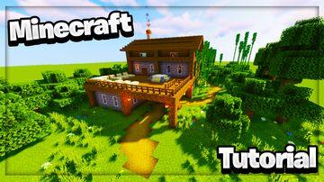 Minecraft: Large Stone Brick Survival Base Tutorial | How To Build In Minecraft Minecraft Blog