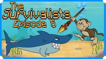 The Survivalists - Episode 5 - Spearing A Shark [Xbox One X] by Team 17 Minecraft Blog