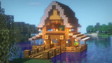 SURVIVAL LAKE House Minecraft Blog