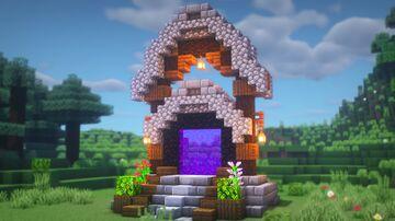 Nether Portal Idea Minecraft Blog