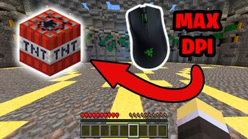 Playing TNT Run With MAX Sensitivity Minecraft Blog