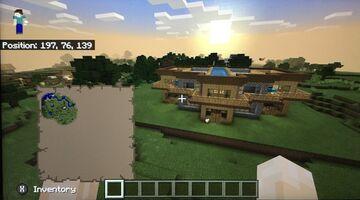 Minecraft Survival Friendly Mansion Minecraft Blog