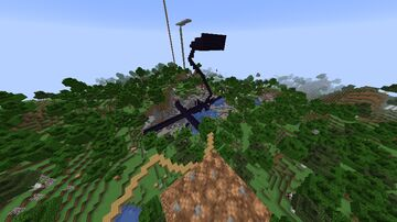 Only been 4 days since the anarchy server was up and the spawn already looks like this lmaoo. Minecraft Blog