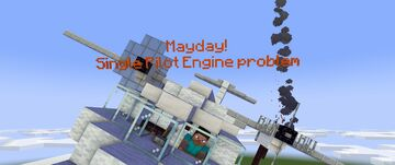 My New Animation Photo! MayDay Minecraft Blog