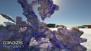 Minecraft - G3N3ZIS HD texture pack. The first alien plant. 1024x1024 - SEUS PTGI 12 Minecraft Blog