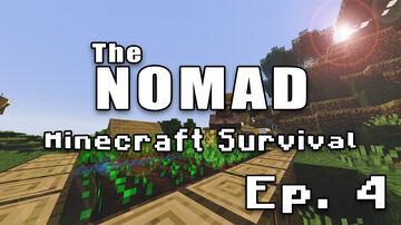 Nomad Survival | Minecraft Let's Play | Ep. 4 Minecraft Blog