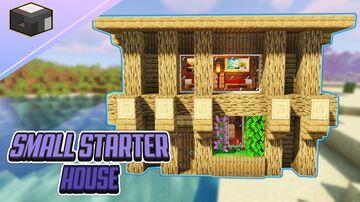 Minecraft SMALL STARTER HOUSE Minecraft Blog