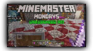 MineMaster Monday tonight!!! Minecraft Blog