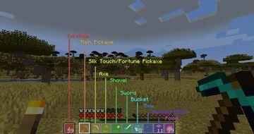 So, how do you organise your hotbar? Minecraft Blog