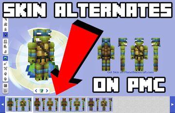 Skin Alternates on PMC? Minecraft Blog