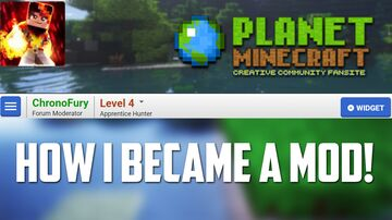 How I became a Moderator on Planet Minecraft Minecraft Blog