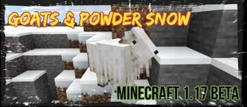 GOATS AND POWDER SNOW NOW IN BEDROCK BETA Minecraft Blog