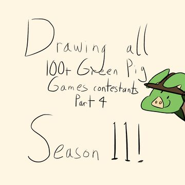 Drawing 100+ GPG Contestants (season 11) Minecraft Blog