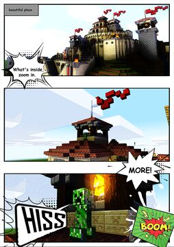 creeper comic Minecraft Blog