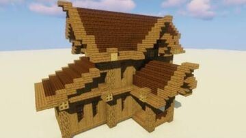 How to make an beautiful Woden House Minecraft Blog