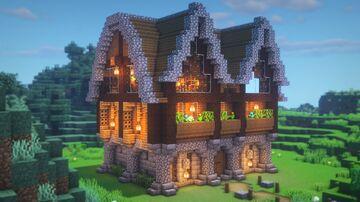 LARGE Survival House Minecraft Blog