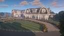 Minecraft Coastal Style Mansion Build Cinematic Minecraft Blog